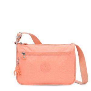 Kipling Callie Peachy Coral Handbag NWT